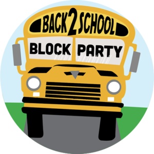 Back-to-School Block Party and School Supply Giveaway