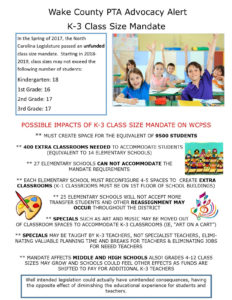 Class Size Mandate and What YOU Can Do!